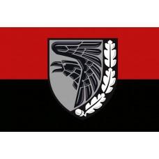 Прапор 93 ОМБр Холодний Яр (червоно чорний)