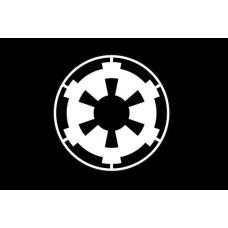 Прапор Galactic Empire (Імперський флаг) Чорний