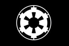 Купить Прапор Galactic Empire (Імперський флаг) Чорний в интернет-магазине Каптерка в Киеве и Украине