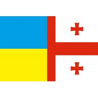 Прапор Дружби Грузія – Україна!