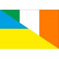 Прапор дружби України - Ірландії