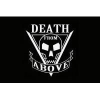 Прапор з кф Зоряний десант Starship Troopers з тату Death From Above