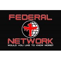 Прапор Federal Network з кф Зоряний десант Starship Troopers