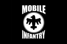 Прапор Mobile Infantry чорний Starship Troopers