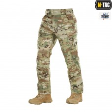 Брюки M-TAC Soft Shell Winter MULTICAM