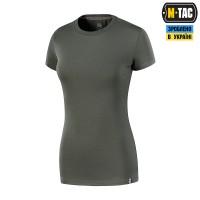 Жіноча футболка M-TAC 93/7 LADY ARMY OLIVE