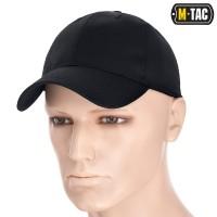 Бейсболка M-TAC Teflon ріп-стоп BLACK
