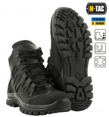 Купить Демисезонні черевики M-TAC MK.2 R BLACK мембрана в интернет-магазине Каптерка в Киеве и Украине
