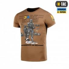Купить Футболка M-TAC UA SIDE LIGHT COYOTE в интернет-магазине Каптерка в Киеве и Украине