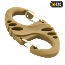 Карабин пластиковый M-Tac S-HOOK COYOTE