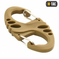 Карабін пластиковий M-Tac S-HOOK COYOTE
