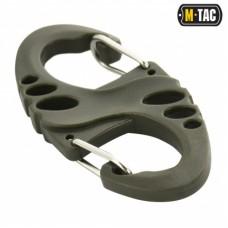Карабин пластиковый M-Tac S-HOOK OLIVE