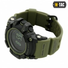 Годинник M-TAC ADVENTURE BLACK/OLIVE