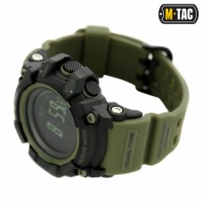 Годинник M-TAC ADVENTURE BLACK/OLIVE
