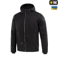 Куртка M-TAC RIDER WINDBLOCK FLEECE BLACK