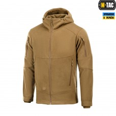 Куртка M-TAC RIDER WINDBLOCK FLEECE DARK COYOTE