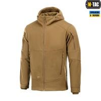Куртка M-TAC RIDER WINDBLOCK FLEECE DARK COYOTE