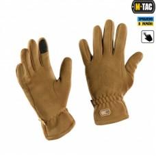 Зимові рукавиці M-Tac Winter COYOTE Touchscreen