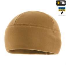 Шапка M-Tac WATCH CAP PREMIUM фліс 343гм COYOTE