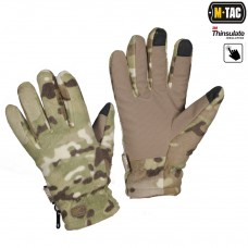 Рукавички зимові M-TAC FLEECE THINSULATE Multicam з Touch Screen
