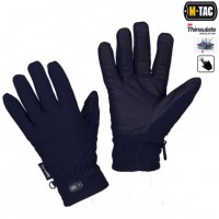 Рукавички зимові M-TAC SOFT SHELL THINSULATE NAVY BLUE з Touch Screen