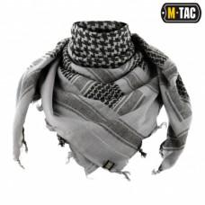 Шемаг з тканини щільного плетіння GREY/BLACK