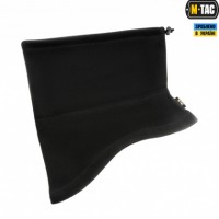 Зимовий анатомічний шарф-труба M-Tac ELITE BLACK