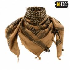 Шемаг з тканини щільного плетіння COYOTE/BLACK
