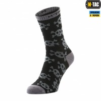 Шкарпетки M-TAC MK.3 PIRATE SKULL BLACK