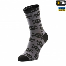 Шкарпетки M-TAC MK.3 PIRATE SKULL DARK GREY