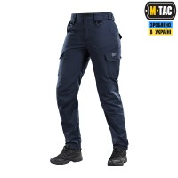 Жіночі брюки M-TAC AGGRESSOR LADY FLEX NAVY BLUE Teflon