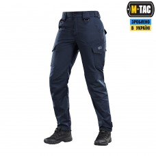 Темно сині жіночі брюки M-TAC AGGRESSOR LADY FLEX NAVY BLUE Teflon