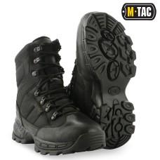Зимові тактичні черевики M-TAC THINSULATE WATERPROOF BLACK