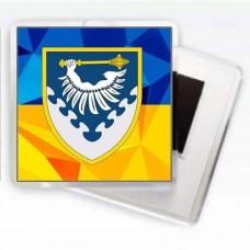 Магніт ПвК Південь (жовто-блакитний)