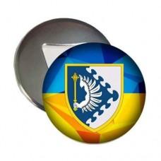 Купить Відкривачка з магнітом ПвК Схід в интернет-магазине Каптерка в Киеве и Украине