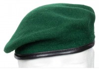 Берет зелений MFH 10104B Commando Green
