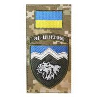 Нарукавна заглушка 108 ОГШБ Зі щитом