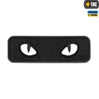 Нашивка M - Tac Cat Eyes 3D ПВХсвітлонакопичувач BLACK