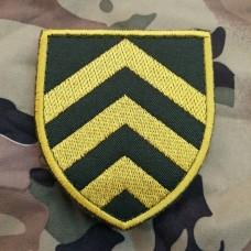 Нарукавний знак Управління по роботі з сержантським складом Збройних Сил України