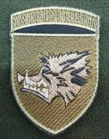 Нарукавний знак 18 ОБМП (польовий варіант)