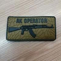 PVC патч AK OPERATOR  койот-олива