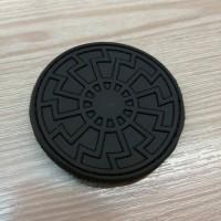 PVC патч Чорне Сонце чорний-чорний