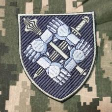 Нарукавний знак Командування сил підтримки ЗСУ (польовий)
