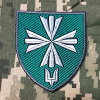 Нарукавний знак 99 окремий батальйон управління та забезпечення ССО ЗСУ
