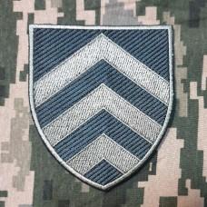 Нарукавний знак Управління по роботі з сержантським складом ЗСУ (польовий)
