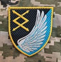 Нарукавний знак 31 окремий полк зв'язку і управління Повітряне командування ЦЕНТР
