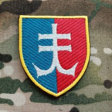 Нарукавний знак 35 ОБрМП (кольоровий варіант)