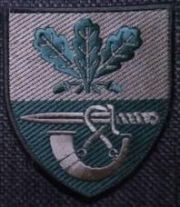 Нарукавний знак 61 Окрема Піхотна Єгерська Бригада (Польовий)