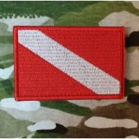 Нашивка Дайверський флаг