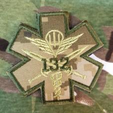 Нашивка Медик 132 ОРБ ДШВ